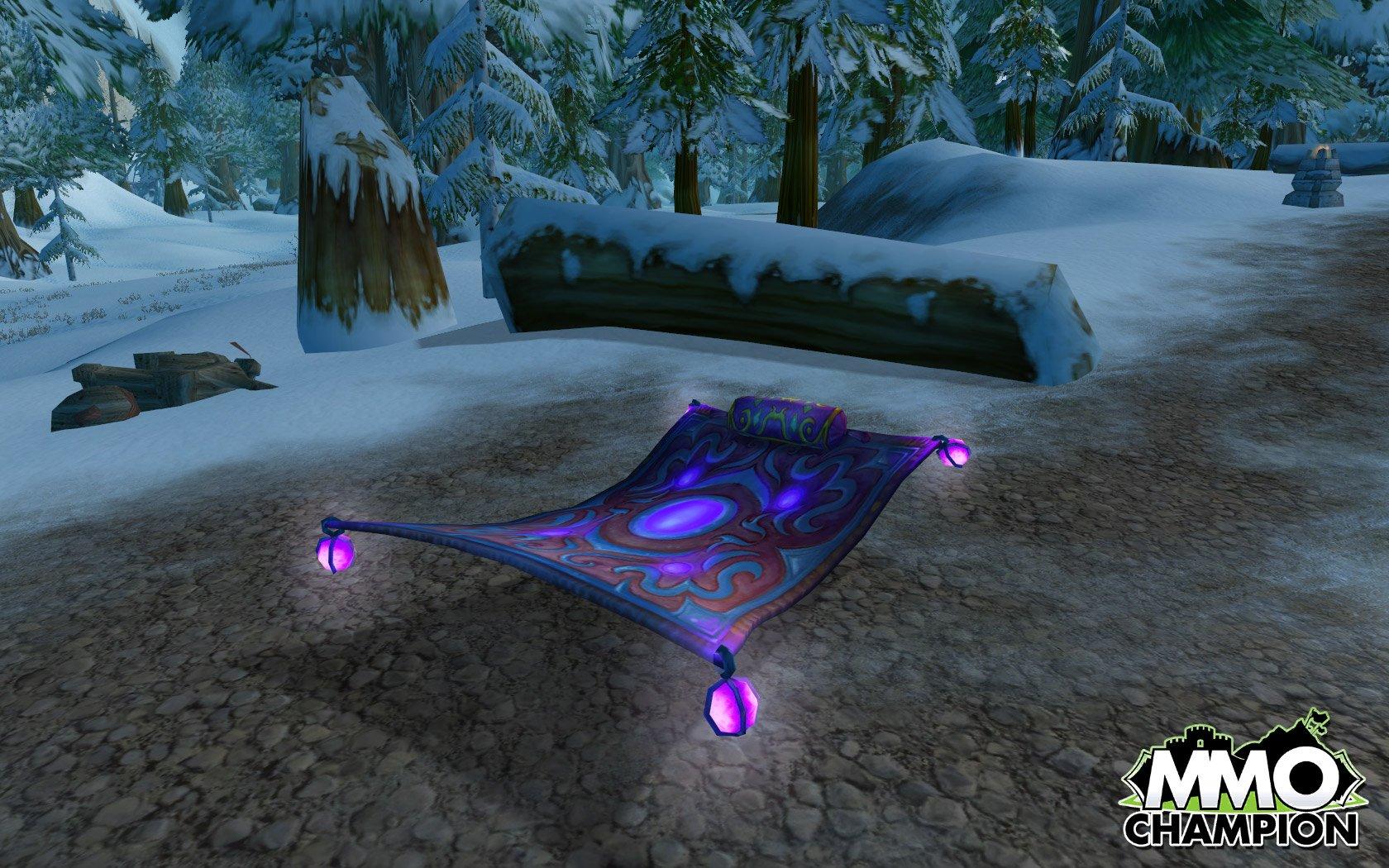 Swift Spellfire Carpet Not In Game Item World Of