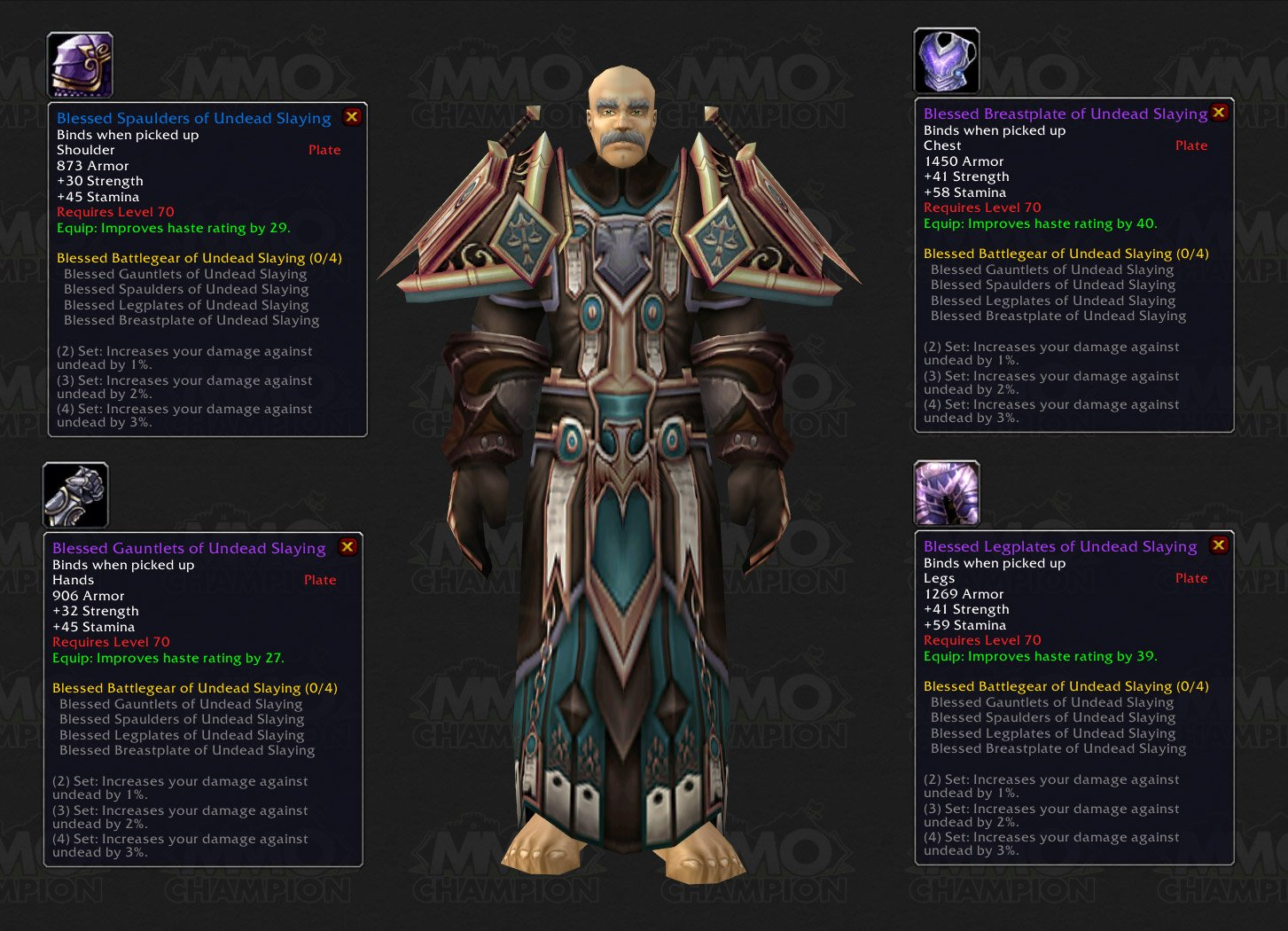 Plate Armor Wow Plate Armor Set
