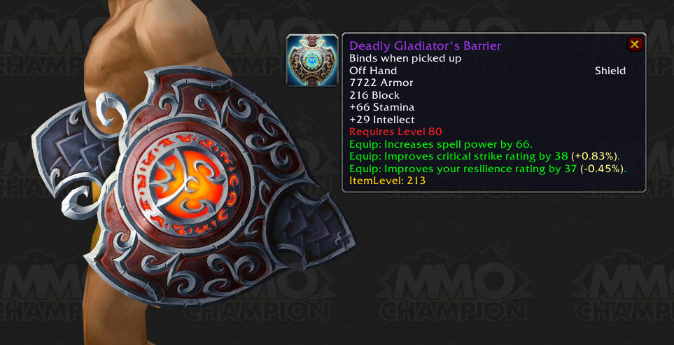 how to get furious gladiator gear
