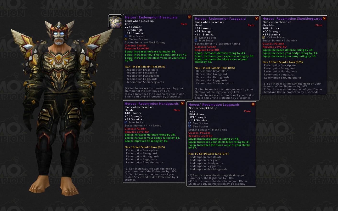Build 8970 - Items - MMO-Champion - SPOILER-WARNUNG! - Verdammte Horde