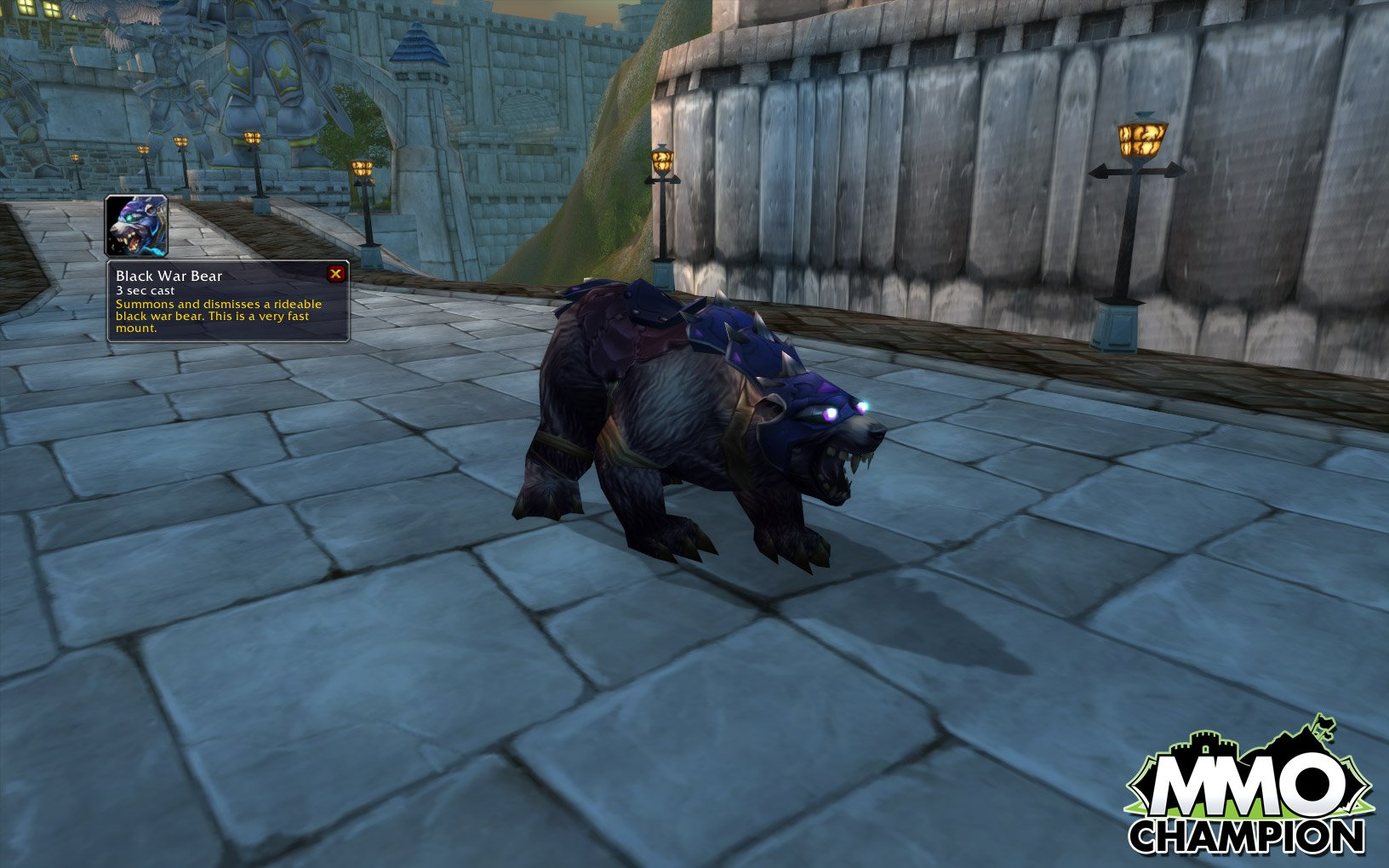 Black War Bear Wow Black War Bear