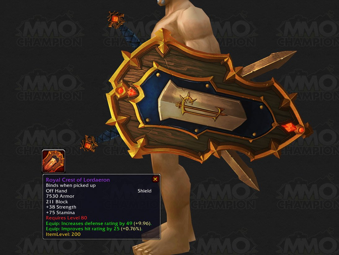 Shields For Everyone - Guides - Wowhead