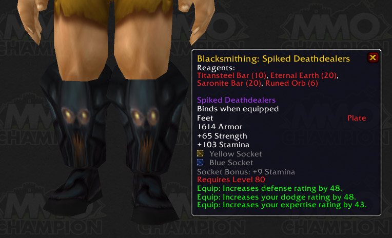 New Tanking Boots