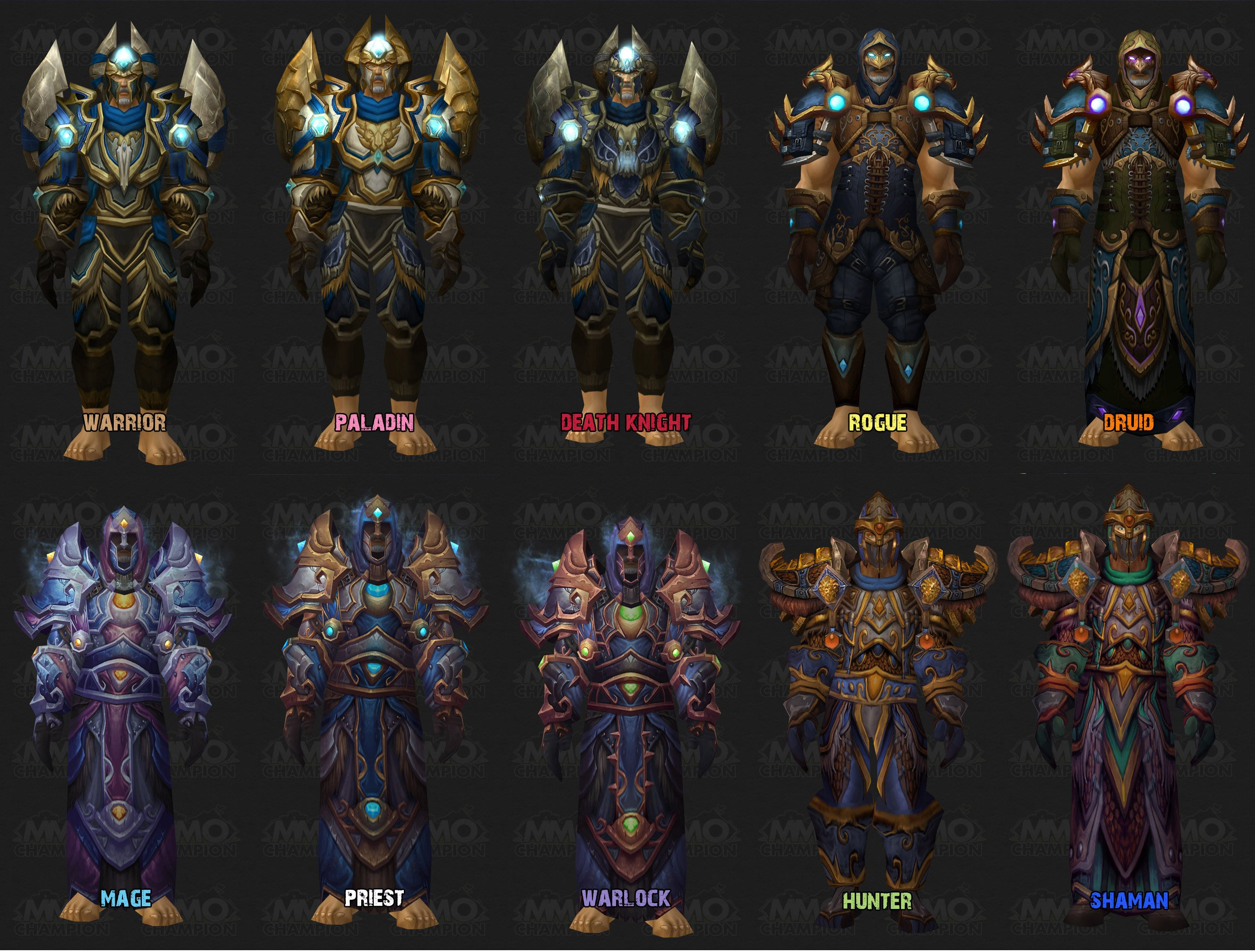 MMO-Ch&ion Previews Full Tier 9 Armor Set ModelsJul 17th 2009 at 1003 AM by Togikagi  sc 1 st  WoW Allakhazam & MMO-Champion Previews Full Tier 9 Armor Set Models :: World of ...