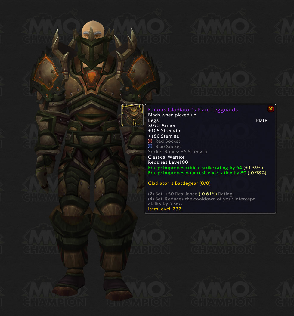 [*][coloru003d #A335EE;]Furious Gladiatoru0027s Plate Gauntlets[/color] & Infos MMO-Champion] Season 6 Armor Sets Stats Blue Posts - World Of ...