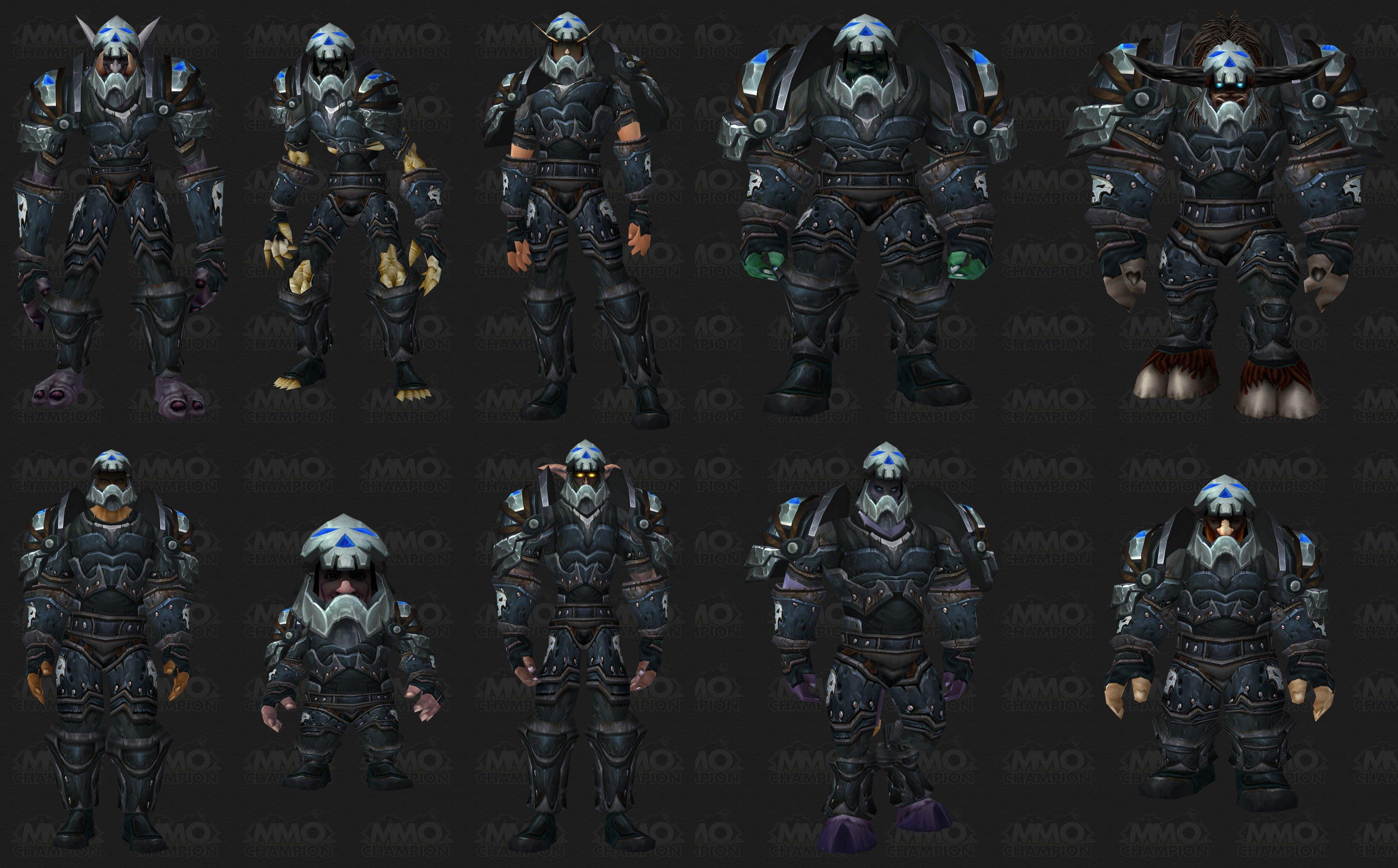 Season 6 Armor Sets Models Preview