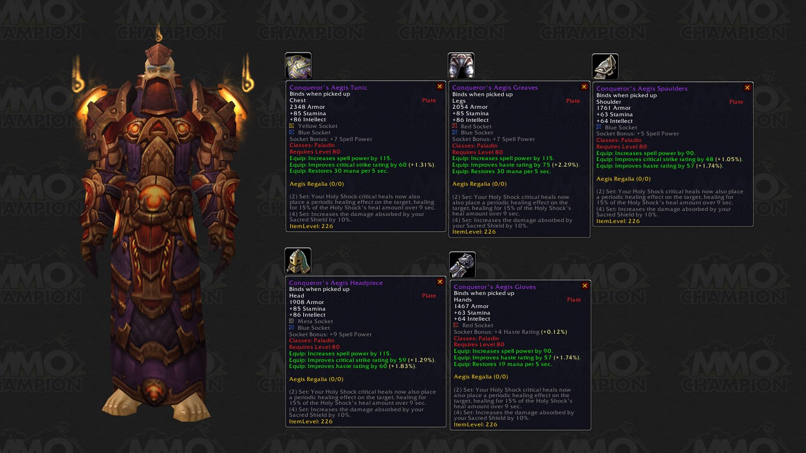 Wow armor penetration gear sets