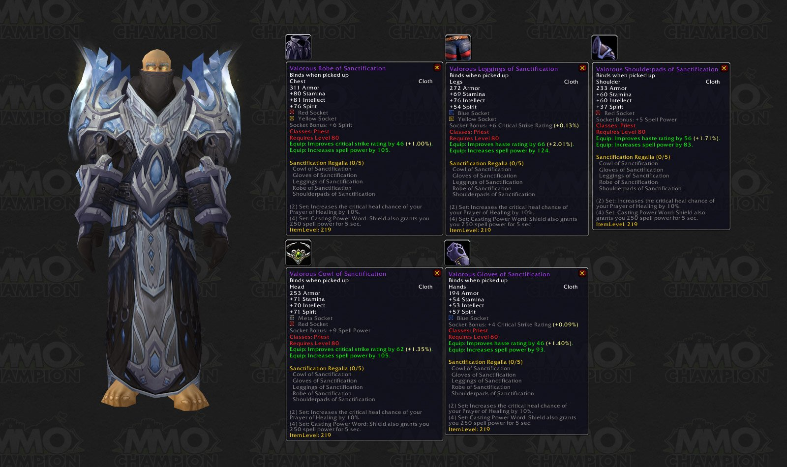 Patch 3 1 - Ulduar - Tier 8 Armor Sets - MMO-Champion