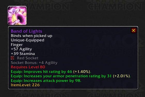 Crit Haste Ring Legion Dungeon