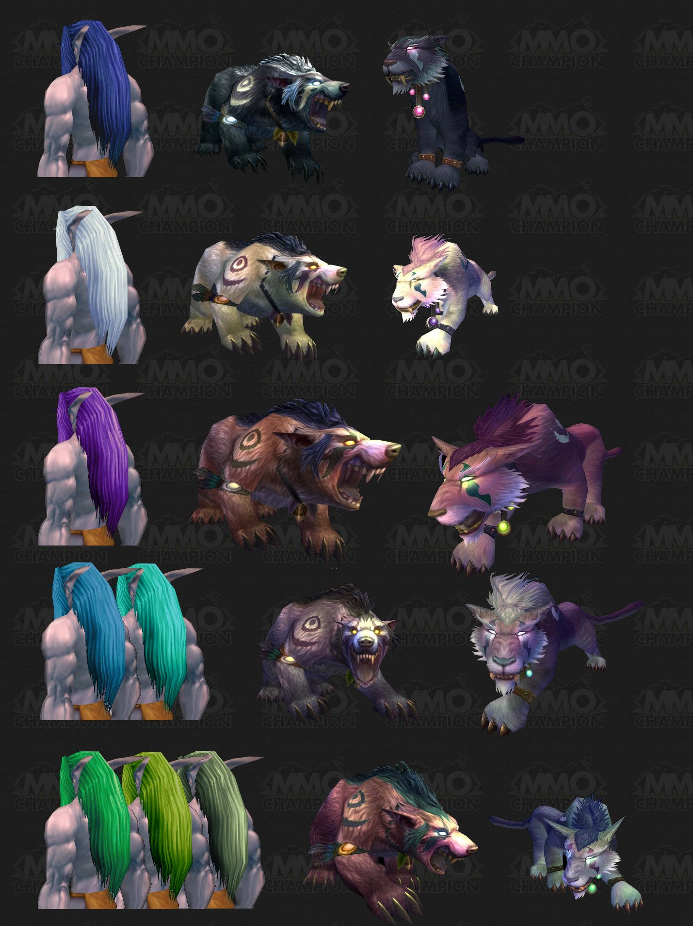 Zarhym explains druid form colour combos night elves nvjuhfo Choice Image