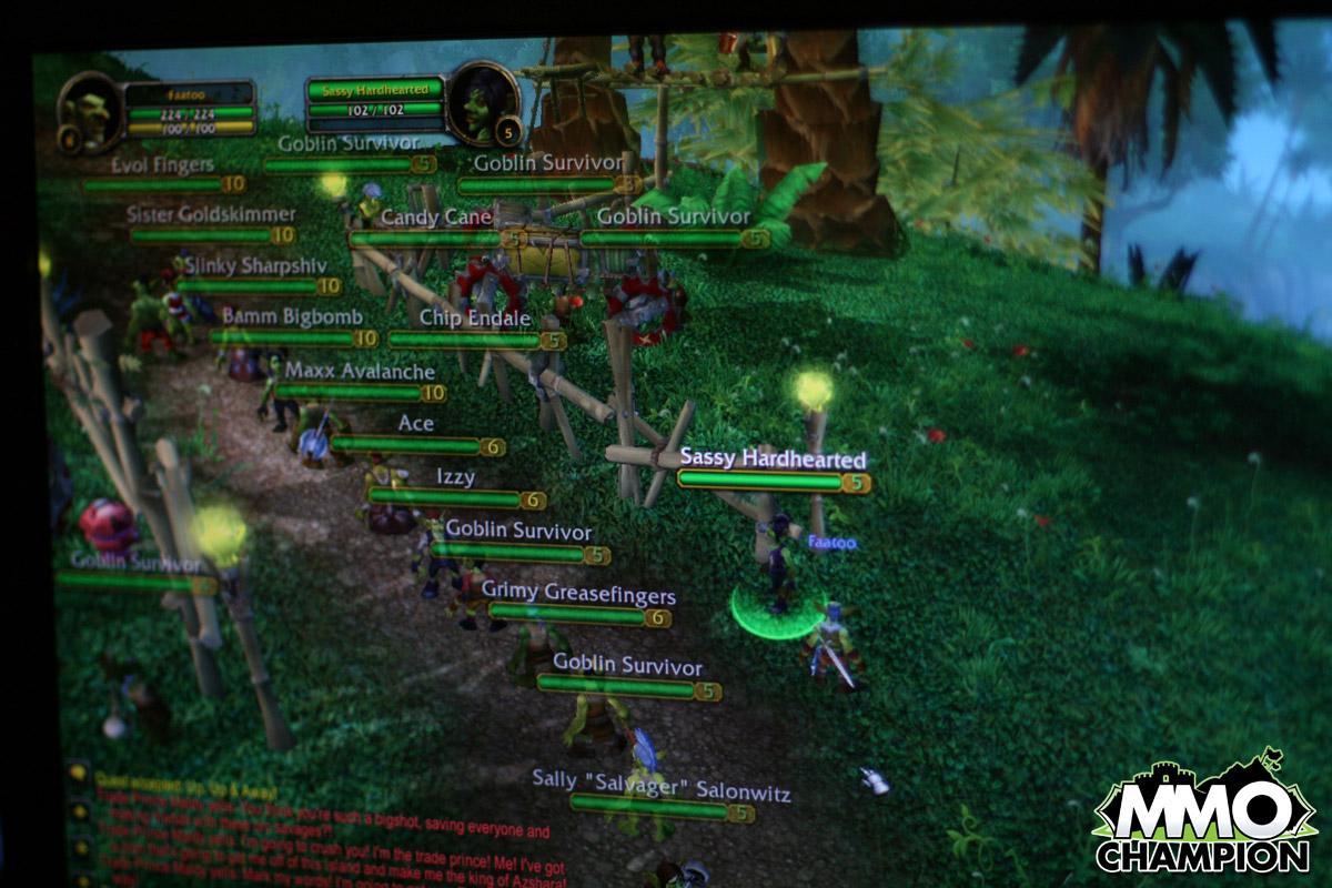 знакомство с world of warcraft