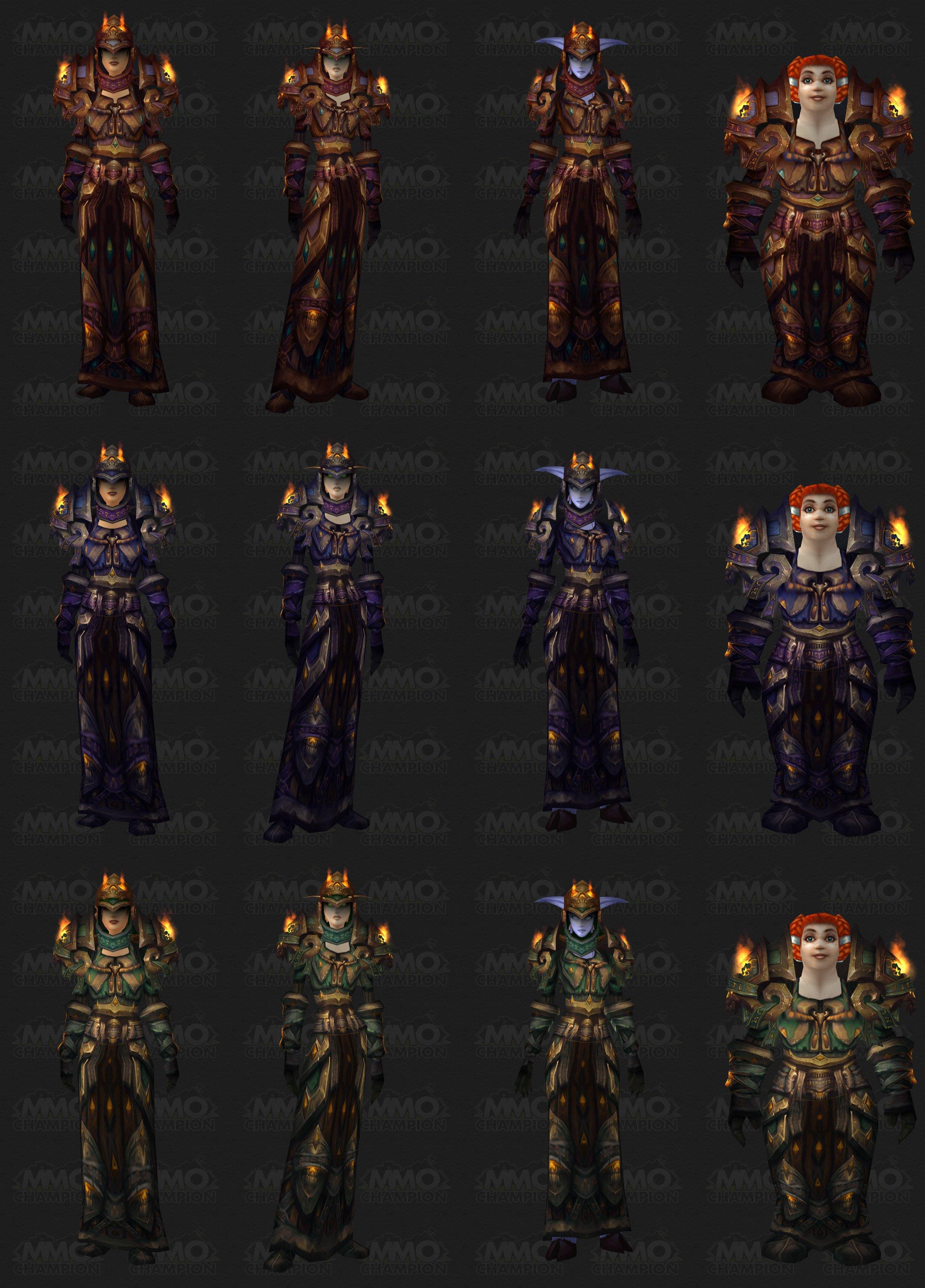 Tier 10 Armor Sets
