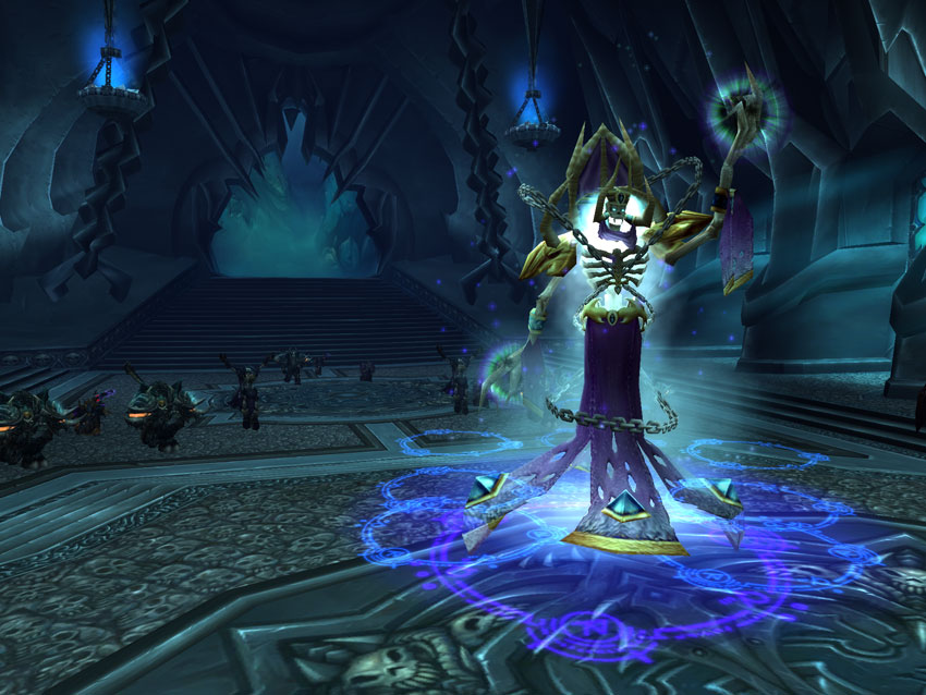 wow icecrown citadel how to get to lich king