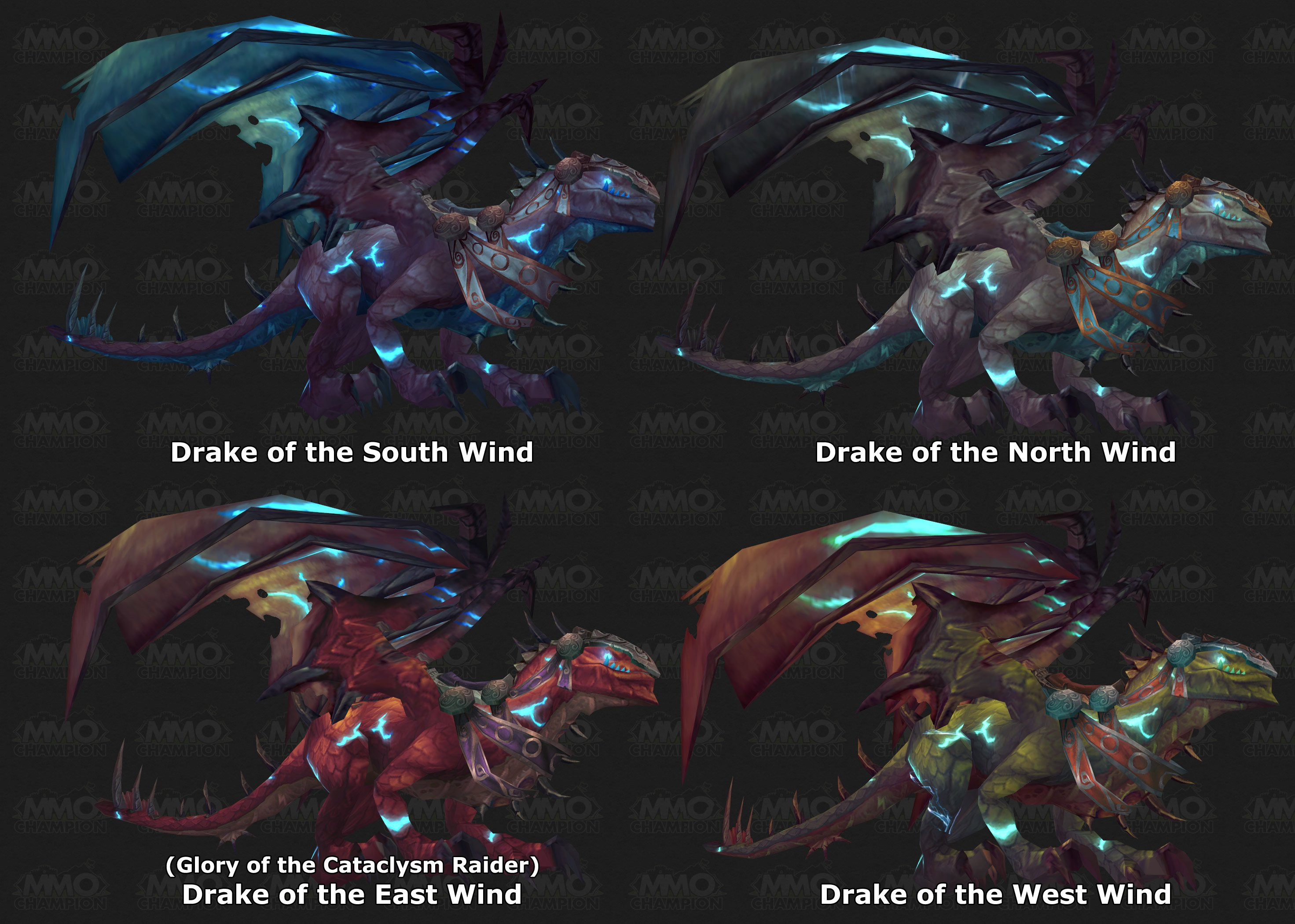 Drakes of the Wind, Winddrachen