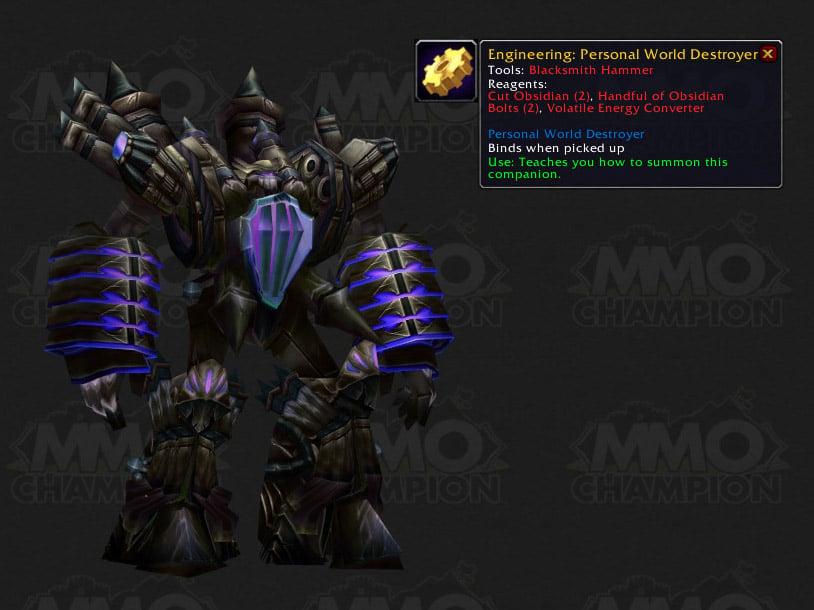 faction leaders companion pets blue posts