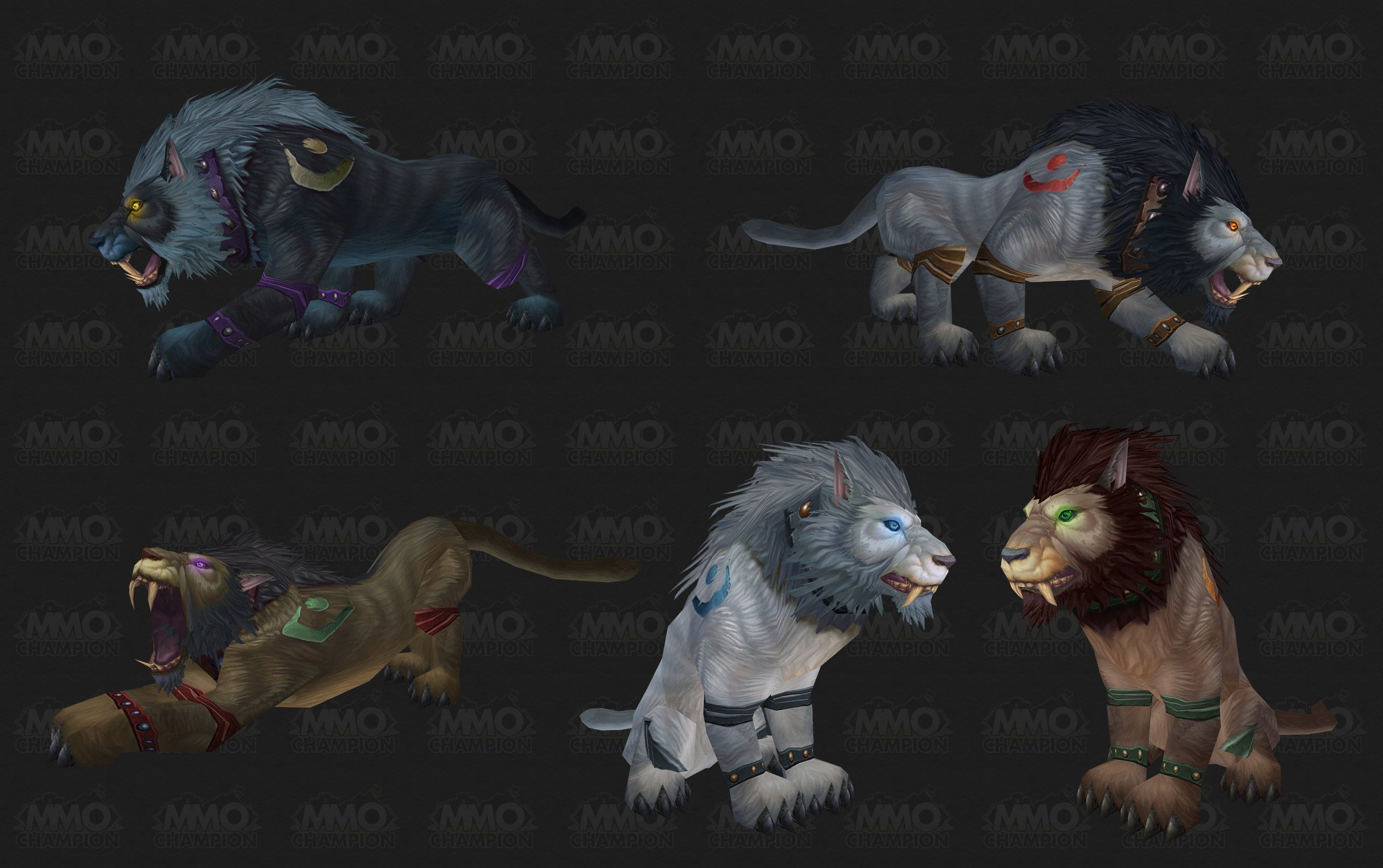 Druid Cat forms have received an update! : wow