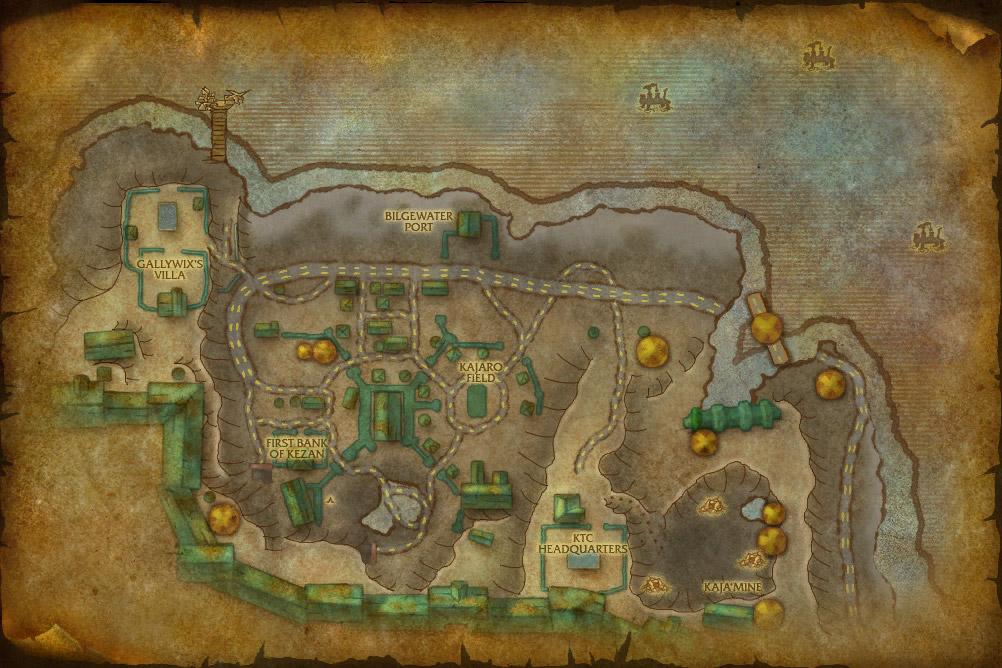 Kezan World Of Warcraft