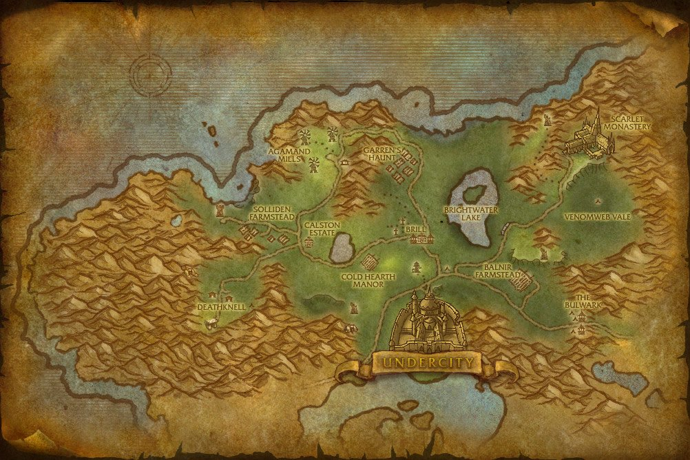 Tirisfal glades mmo champion world map cataclysm gumiabroncs Choice Image