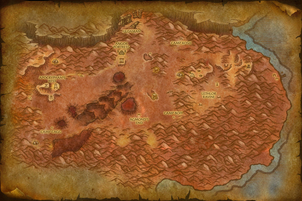 how to go blasted lands from stormwind