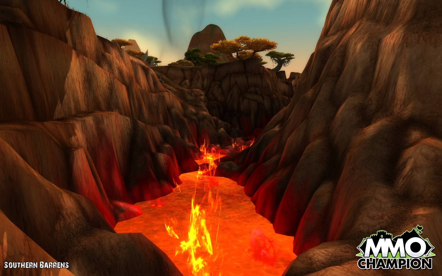 Dragons of Abyss - Cataclysm - Zones - Northern Barrens.