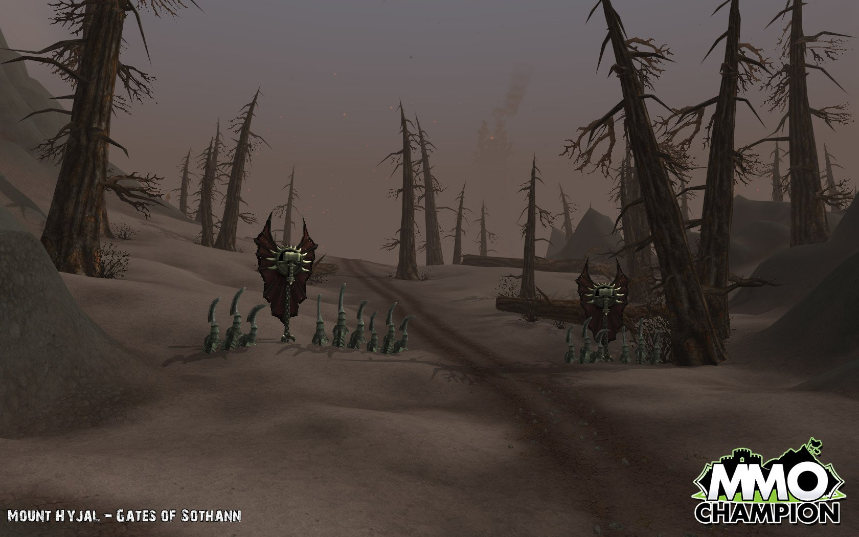 mount hyjal how to get to