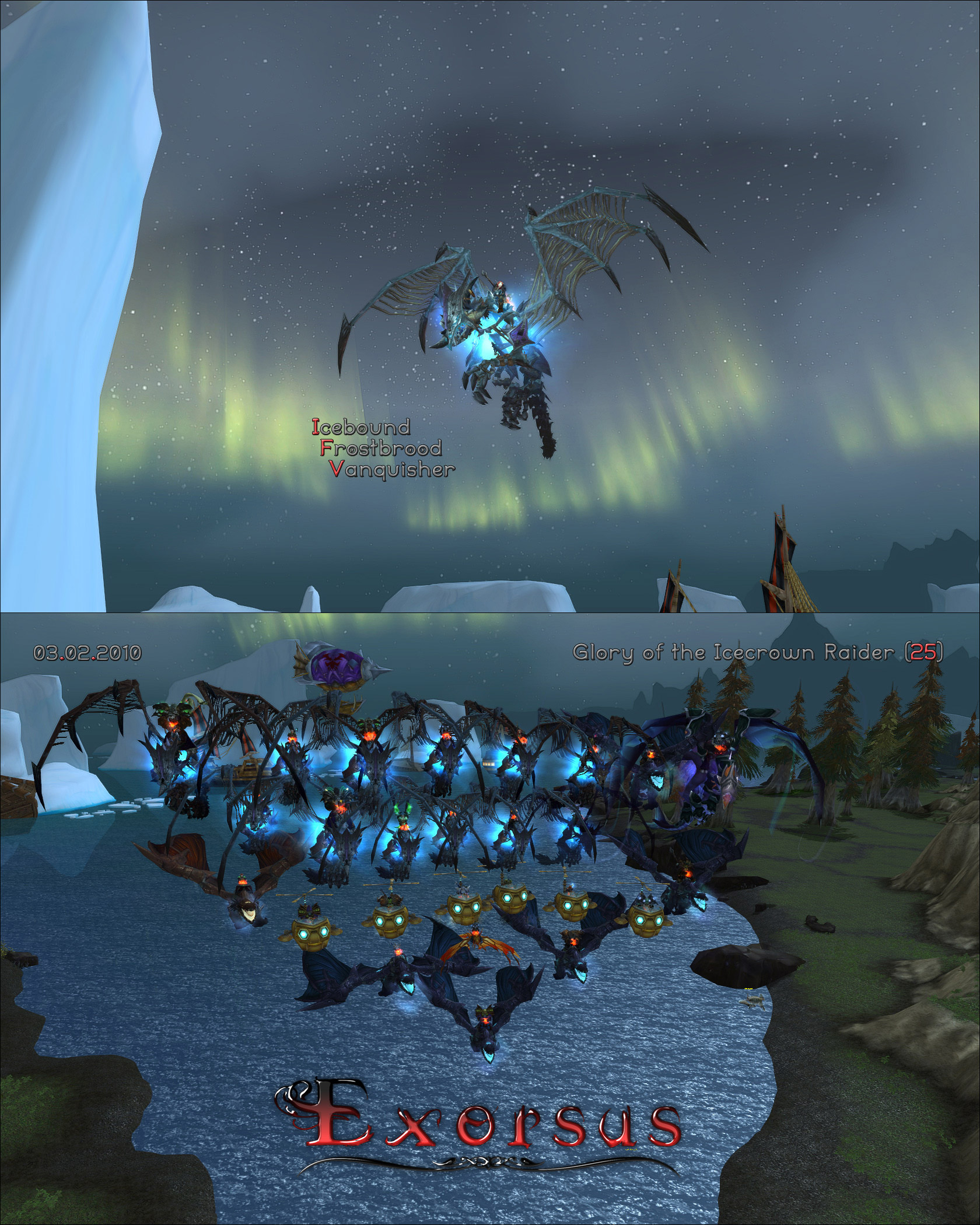 & glory of the icecrown raider guide Charlie?