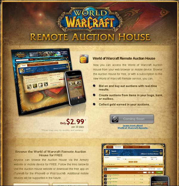 Introducing The Remote Auction House
