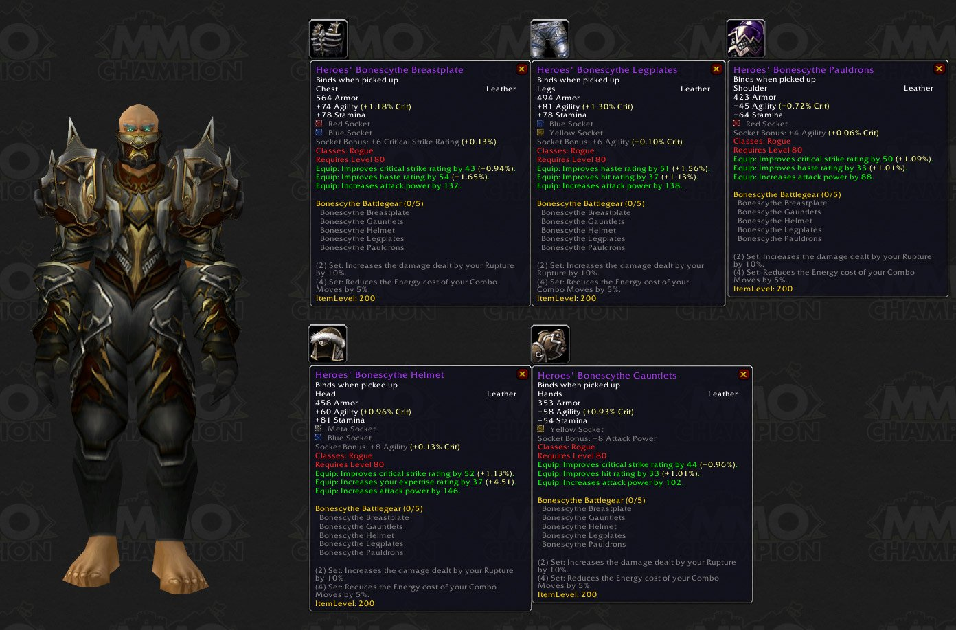A walkthrough guide for new level 80 rogues | www. Azzor. Com.