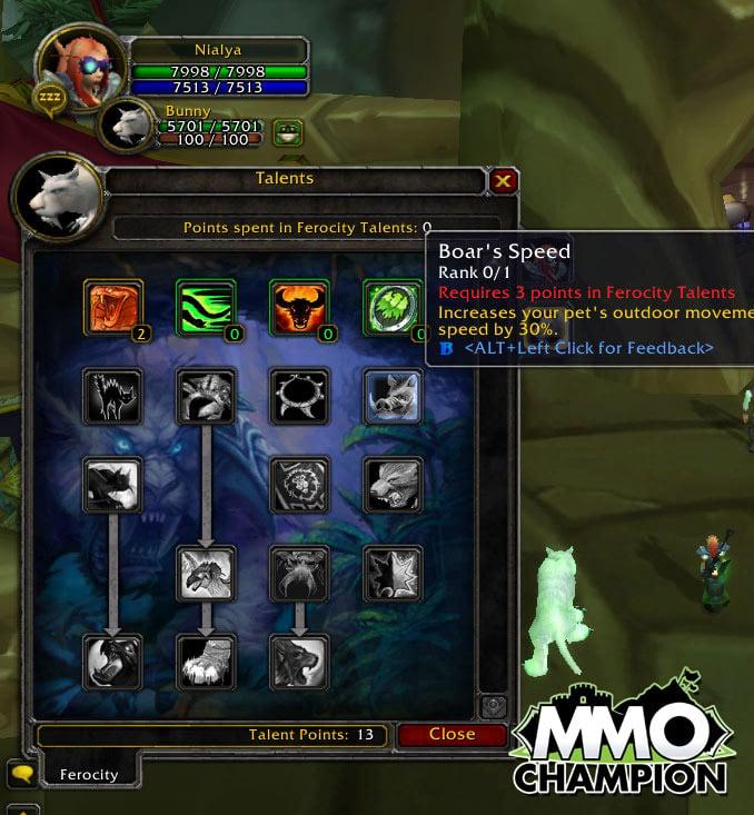 Beast mastery hunter guide mmo champ