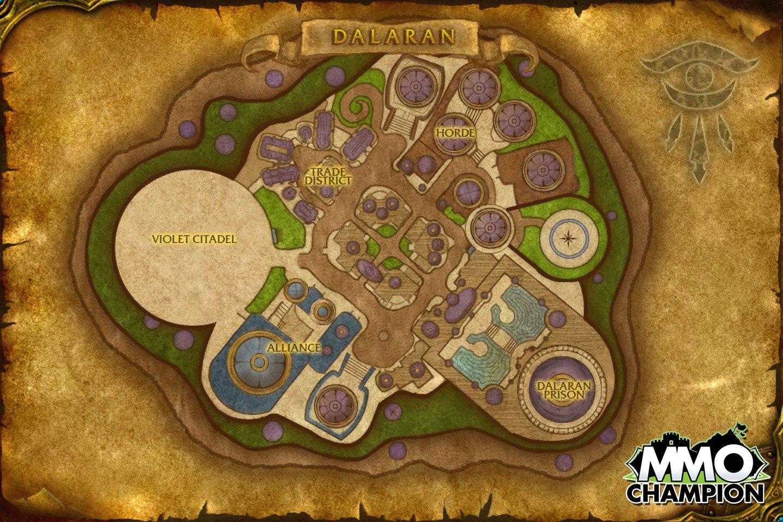 Dalaran map :)   boards.ie